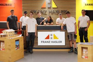 Die Lehre bei Franz Hasler Foto
