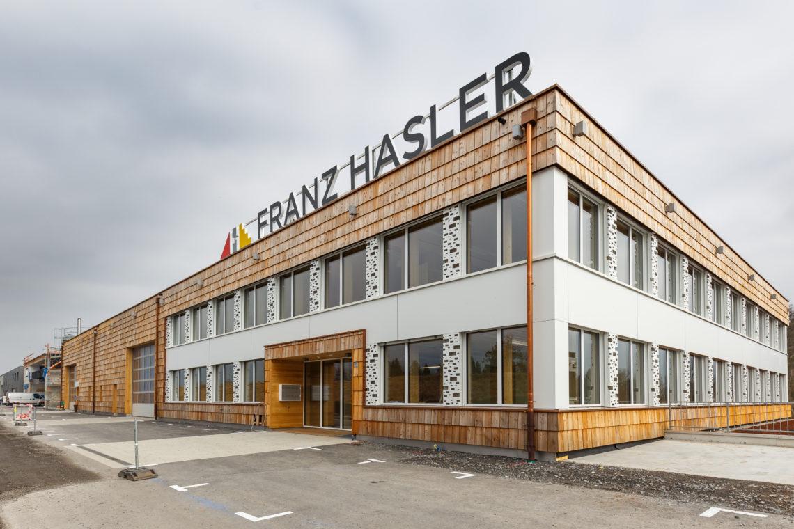Firmengebäude Franz Hasler – Bendern