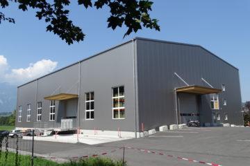 Werkhalle Nendeln Foto