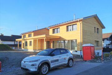 2 Einfamilienhäuser in Kriessern Foto